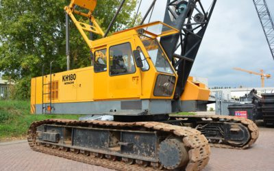 Hitachi KH180-3 50 tons crane