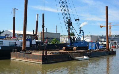 Modular crane ponton